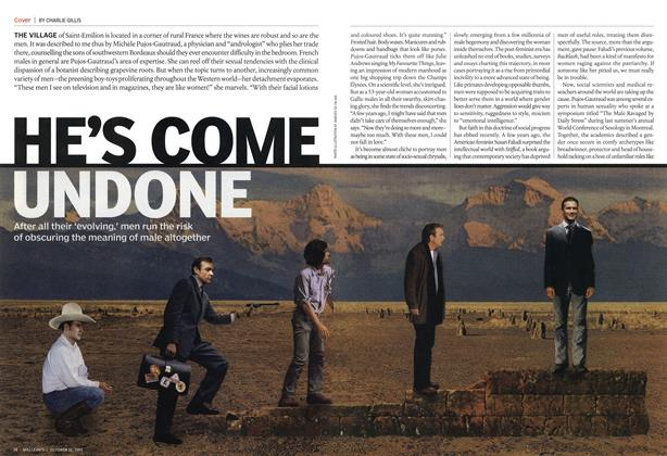 Article Preview: HE'S COME UNDONE, October 2005 | Maclean's