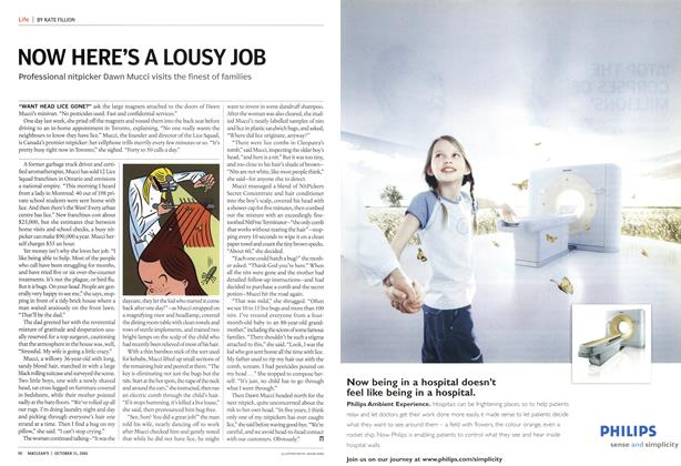 Article Preview: NOW HERE'S A LOUSY JOB, October 2005 | Maclean's