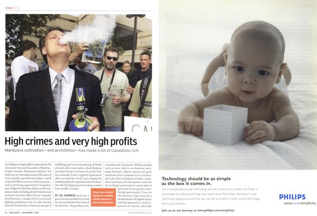 Article Preview: High crimes and very high profits, November 2005 | Maclean's