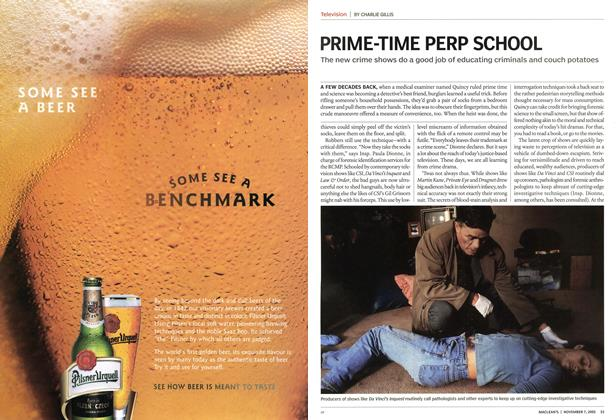 Article Preview: PRIME-TIME PERP SCHOOL, November 2005 | Maclean's