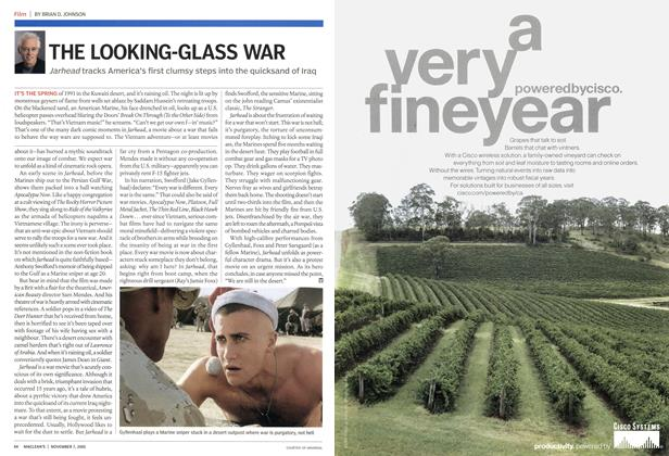 Article Preview: THE LOOKING-GLASS WAR, November 7th 2005 | Maclean's