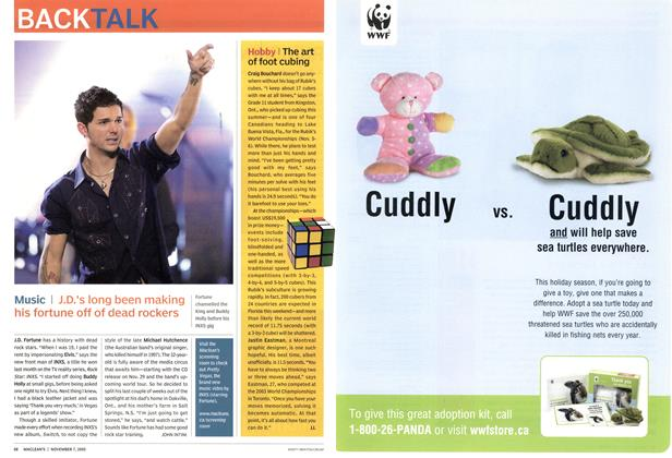 Article Preview: Music, November 7th 2005 | Maclean's
