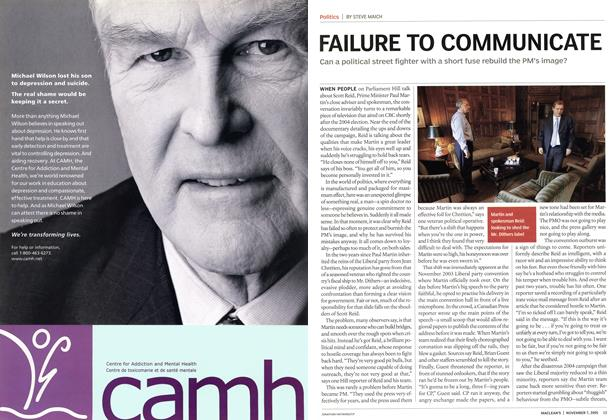 Article Preview: FAILURE TO COMMUNICATE, November 7th 2005 | Maclean's