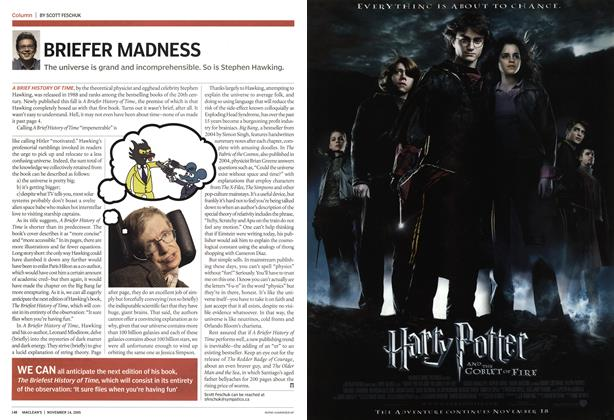 Article Preview: BRIEFER MADNESS, November 2005 | Maclean's