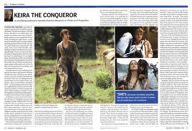 Article Preview: KEIRA THE CONQUEROR, November 14th 2005 | Maclean's