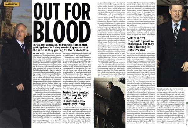 Article Preview: OUT FOR BLOOD, NOV. 21-28 2005 | Maclean's