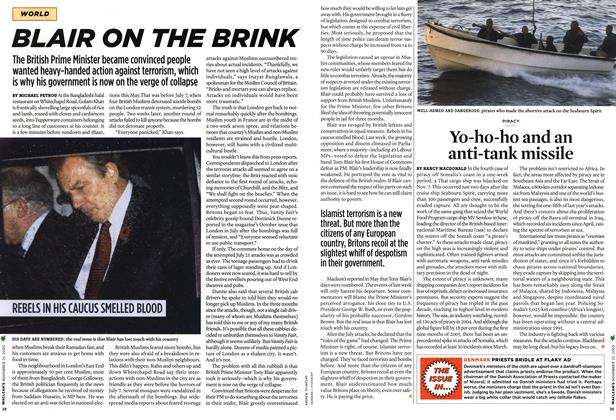 Article Preview: BLAIR ON THE BRINK, NOV. 21-28 2005 | Maclean's