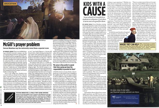 Article Preview: KIDS WITH A CAUSE, NOV. 21-28 2005 | Maclean's
