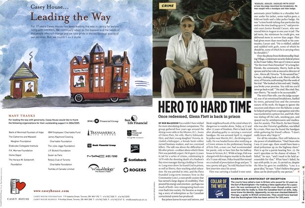 Article Preview: HERO TO HARD TIME, NOV. 21-28 2005 | Maclean's
