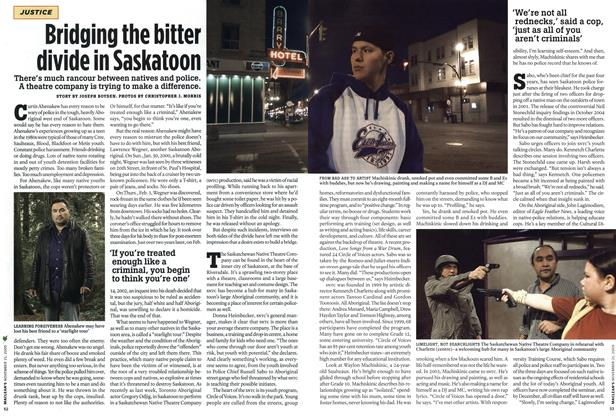 Article Preview: Bridging the bitter divide in Saskatoon, NOV. 21-28 2005 | Maclean's