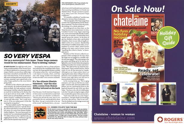 Article Preview: SO VERY VESPA, NOV. 21-28 2005 | Maclean's