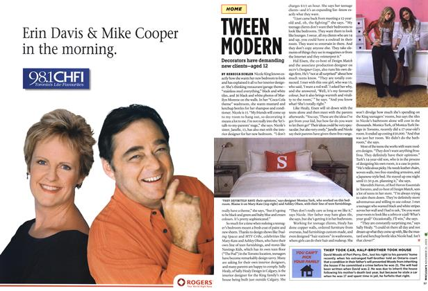 Article Preview: TWEEN MODERN, NOV. 21-28 2005 | Maclean's