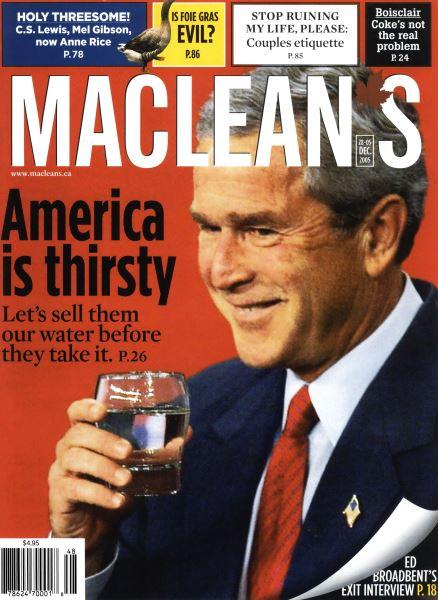 Issue: - 28-05 DEC. 2005   Maclean's