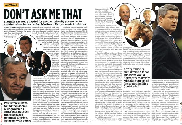 Article Preview: DON'T ASK ME THAT, NOV 28-DEC. 5 2005 | Maclean's