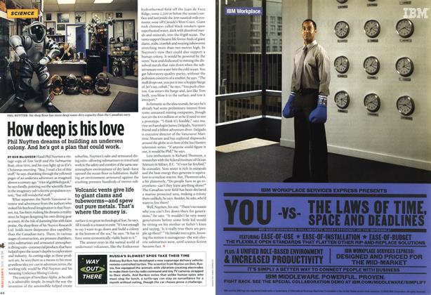 Article Preview: How deep is his love, NOV 28-DEC. 5 2005 | Maclean's