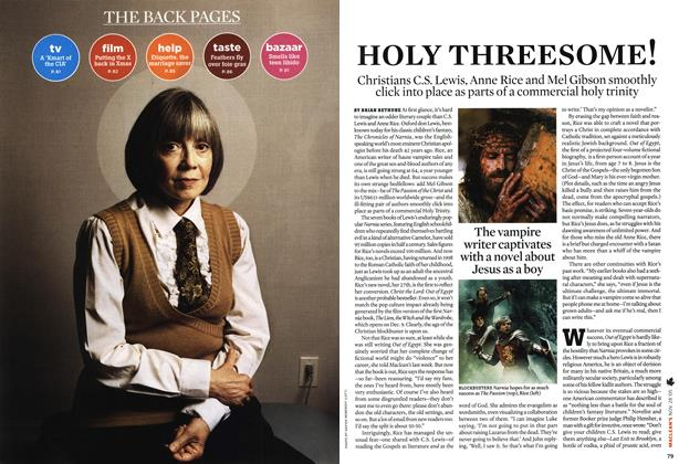Article Preview: HOLY THREESOME!, NOV 28-DEC. 5 2005 | Maclean's