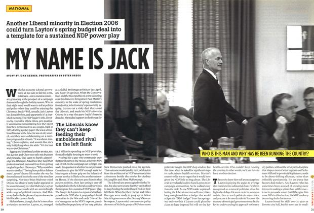 Article Preview: MY NAME IS JACK, December 6-12 2005 | Maclean's