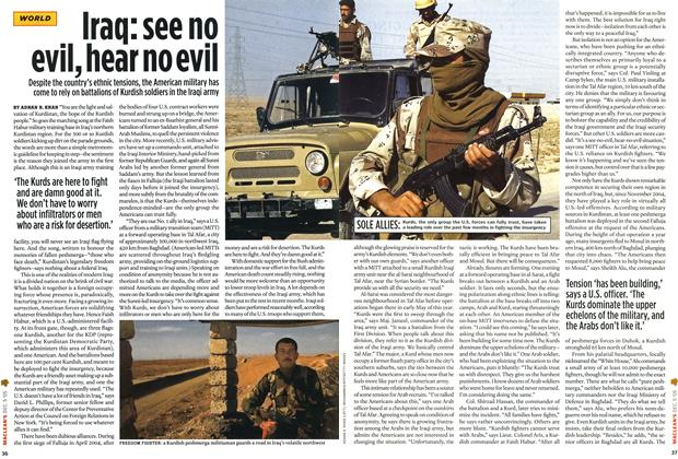 Article Preview: Iraq: see no evil, hear no evil, December 6-12 2005 | Maclean's