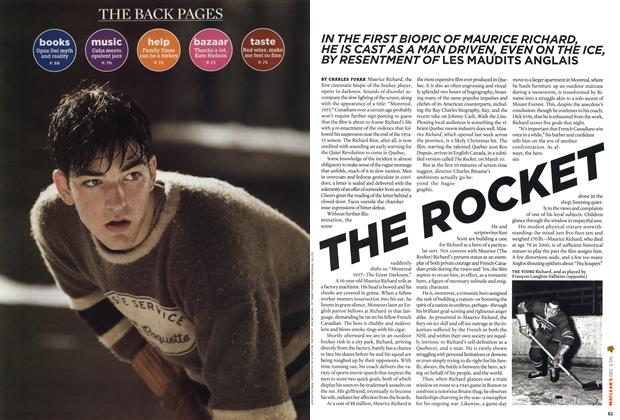 Article Preview: THE ROCKET, December 6-12 2005 | Maclean's