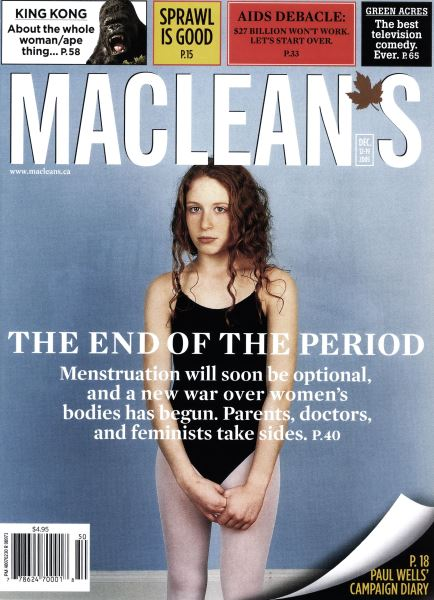 Issue: - DCE. 12 2005 | Maclean's
