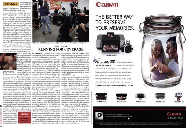 Article Preview: RUNNING FOR COVERAGE, DEC.  12-19 2005 | Maclean's