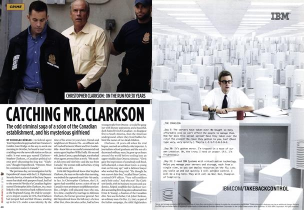 Article Preview: CATCHING MR.CLARKSON, DCE. 12 2005 2005 | Maclean's