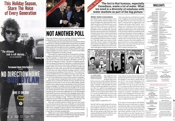 Article Preview: MAIL BAG, DEC.  12-19 2005 | Maclean's