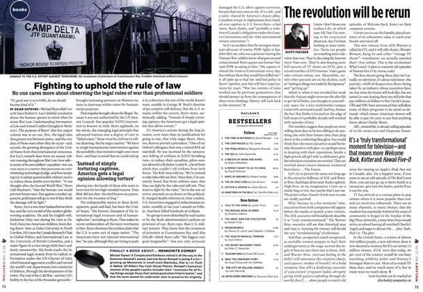 Article Preview: Fighting to uphold the rule of law, DEC.  12-19 2005 | Maclean's