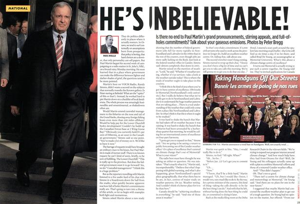 Article Preview: HE'S UNBELIEVABLE!, DEC. 19-26 2005 | Maclean's