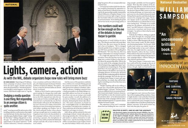 Article Preview: Lights, camera, action, DEC. 19-26 2005 | Maclean's