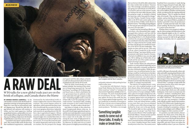 Article Preview: A RAW DEAL, DEC. 19-26 2005 | Maclean's