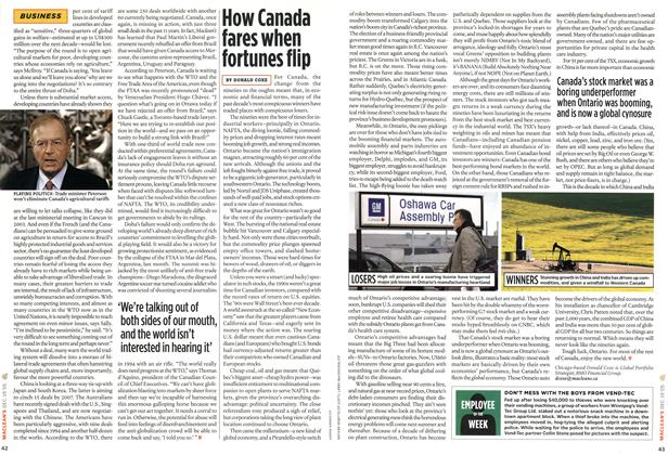 Article Preview: How Canada fares when fortunes flip, 19-26 DEC. 2005 2005 | Maclean's