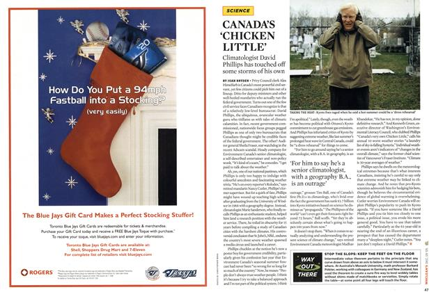 Article Preview: CANADA'S 'CHICKEN LITTLE', DEC. 19-26 2005 | Maclean's