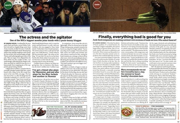 Article Preview: The actress and the agitator, DEC. 19-26 2005 | Maclean's