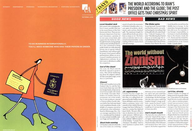 Article Preview: 7 DAYS, DEC. 19-26 2005 | Maclean's