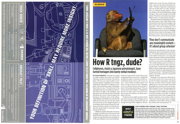 Article Preview: How R tngz, dude?, December 27-31 2005 | Maclean's