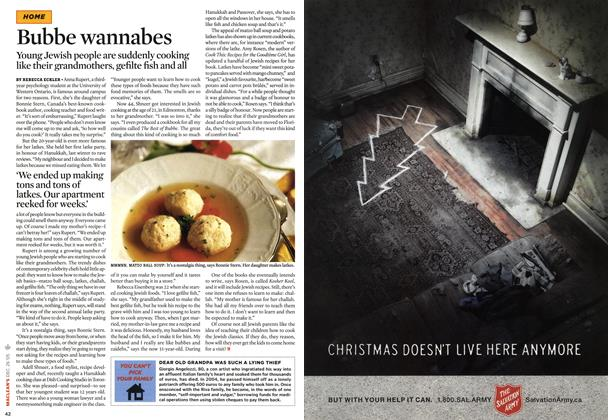 Article Preview: Bubbe wannabes, December 27-31 2005 | Maclean's