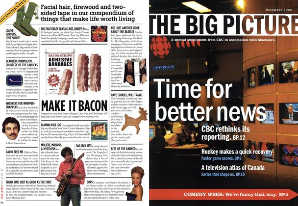 Article Preview: THE BIG PICTURE, December 2005 | Maclean's