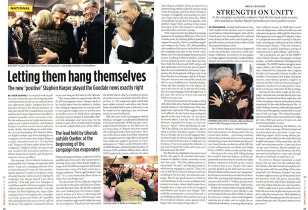 Article Preview: Letting them hang themselves, JAN. 9th 2006 2006 | Maclean's
