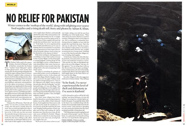 Article Preview: NO RELIEF FOR PAKISTAN, JAN. 9th 2006 2006 | Maclean's