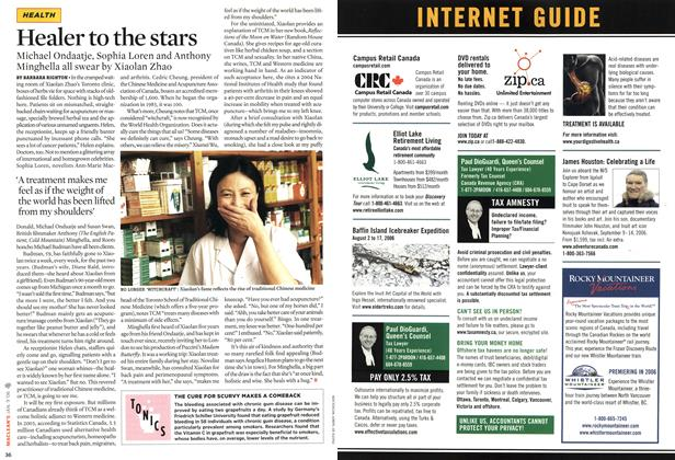 Article Preview: INTERNET GUIDE, JAN. 9th 2006 2006 | Maclean's