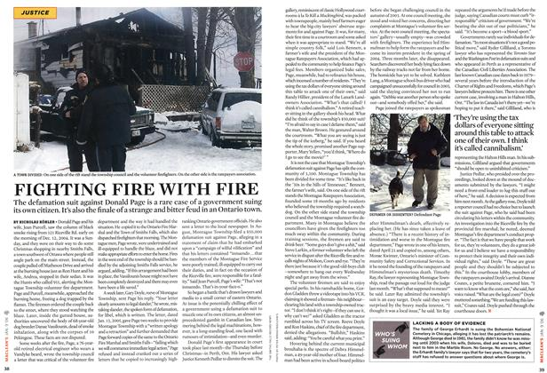 Article Preview: FIGHTING FIRE WITH FIRE, JAN. 9th 2006 2006 | Maclean's