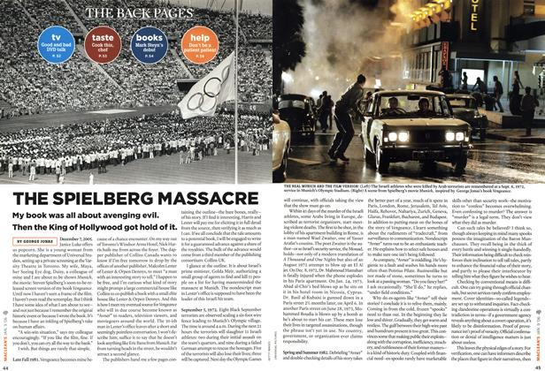 Article Preview: THE SPIELBERG MASSACRE, JAN. 9th 2006 2006 | Maclean's