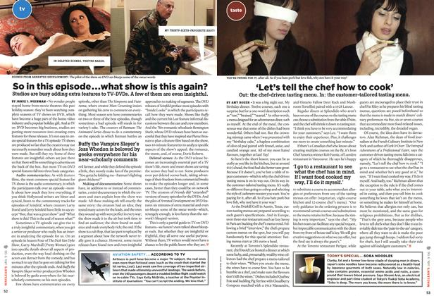 Article Preview: So in this episode...what show is this again?, JAN. 9th 2006 2006 | Maclean's