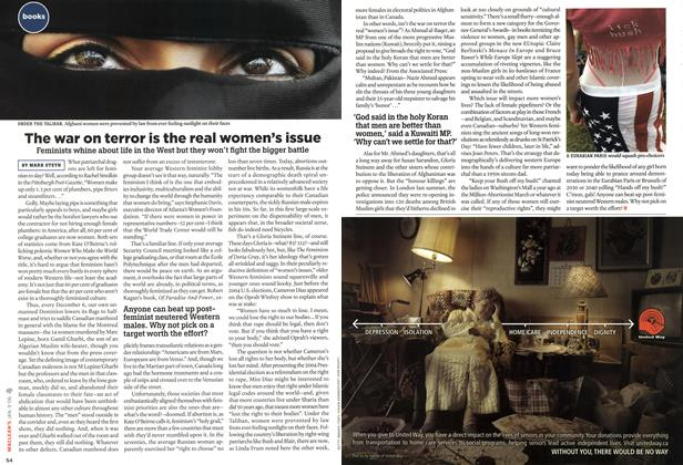 Article Preview: The war on terror is the real women's issue, JAN. 9th 2006 2006 | Maclean's