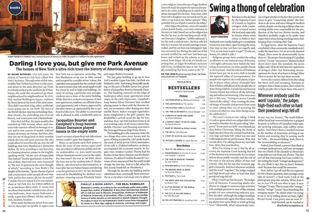 Article Preview: Swing a thong of celebration, JAN. 9th 2006 2006 | Maclean's
