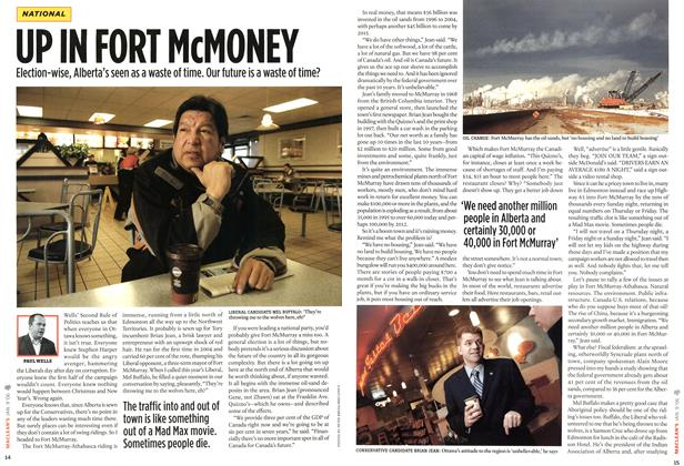 Article Preview: UP IN FORT McMONEY, JAN. 9th 2006 2006 | Maclean's