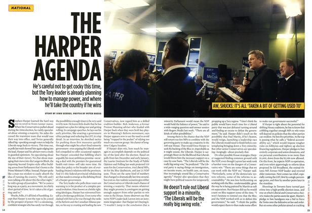 Article Preview: THE HARPER AGENDA, JAN 16th 2006 2006 | Maclean's