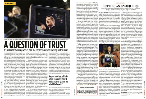 Article Preview: A QUESTION OF TRUST, JAN 16th 2006 2006 | Maclean's