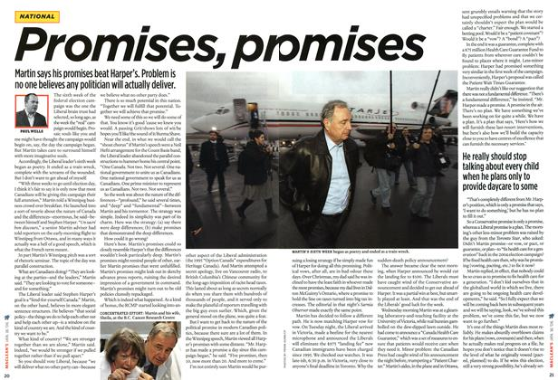 Article Preview: Promises, pr omises, JAN 16th 2006 2006 | Maclean's